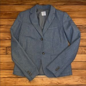 Gap Gray Textured Blazer